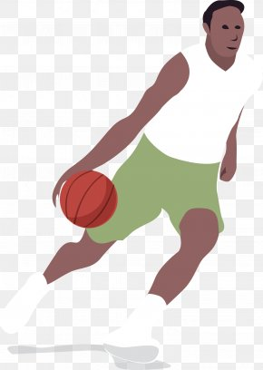 Basketball Player Cartoon Vector - Basketball Player Sport Volleyball PNG