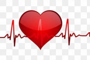Heart Beat - Heart Rate Pulse Clip Art PNG