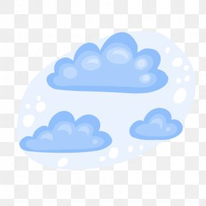 Hand-painted Snowy Weather - Snow Cloud Weather Meteorology PNG