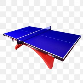 Table Tennis Table - Table Tennis Racket Rectangle Garden Furniture PNG