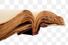 Yellow Old Book - Book Paper PNG
