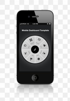 Mobile Dashboard Template - IPhone Mobile App App Store Application Software IOS PNG