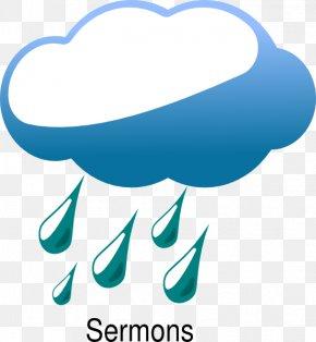 Rain Cloud Cartoon - Rain Cloud Thunderstorm Clip Art PNG