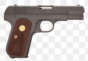 Colt - Trigger Firearm Revolver Automatic Colt Pistol Colt Model 1903 Pocket Hammerless PNG