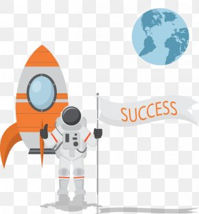 Astronaut - Outer Space Adobe Illustrator PNG