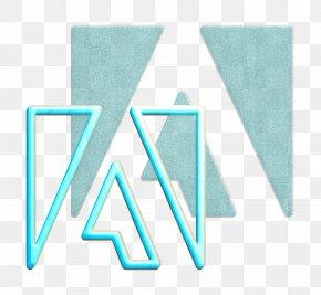 Electric Blue Teal - Adobe Logo PNG