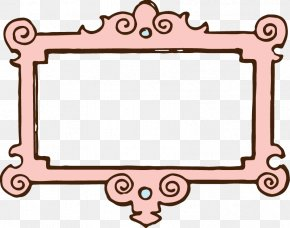 Pink Rose Clipart - Picture Frame Download Clip Art PNG