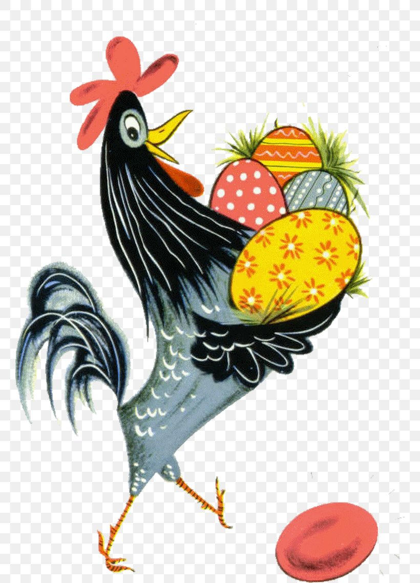 Rooster Easter Bunny Happy Easter! Chicken, PNG, 760x1137px, Rooster, Art, Beak, Bird, Chicken Download Free