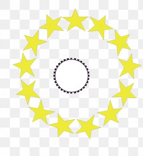 Consisting Of A Circle Of Yellow Stars - United States Army Logo Military Clip Art PNG