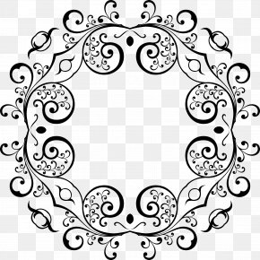 Stylish Vector - Floral Design Logo Clip Art PNG