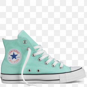 Mint - Chuck Taylor All-Stars Converse Sneakers High-top Shoe PNG