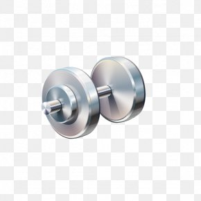Fitness Barbell - Dumbbell Physical Exercise Weight Training Physical Fitness PNG