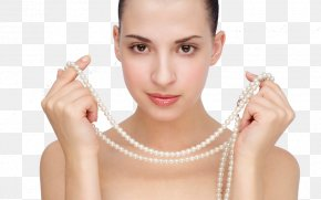 Pearl Necklace - Jewellery Pearl Necklace Pearl Necklace Engagement Ring PNG