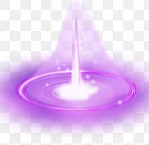 Purple Light Effect Material - Light Purple PNG