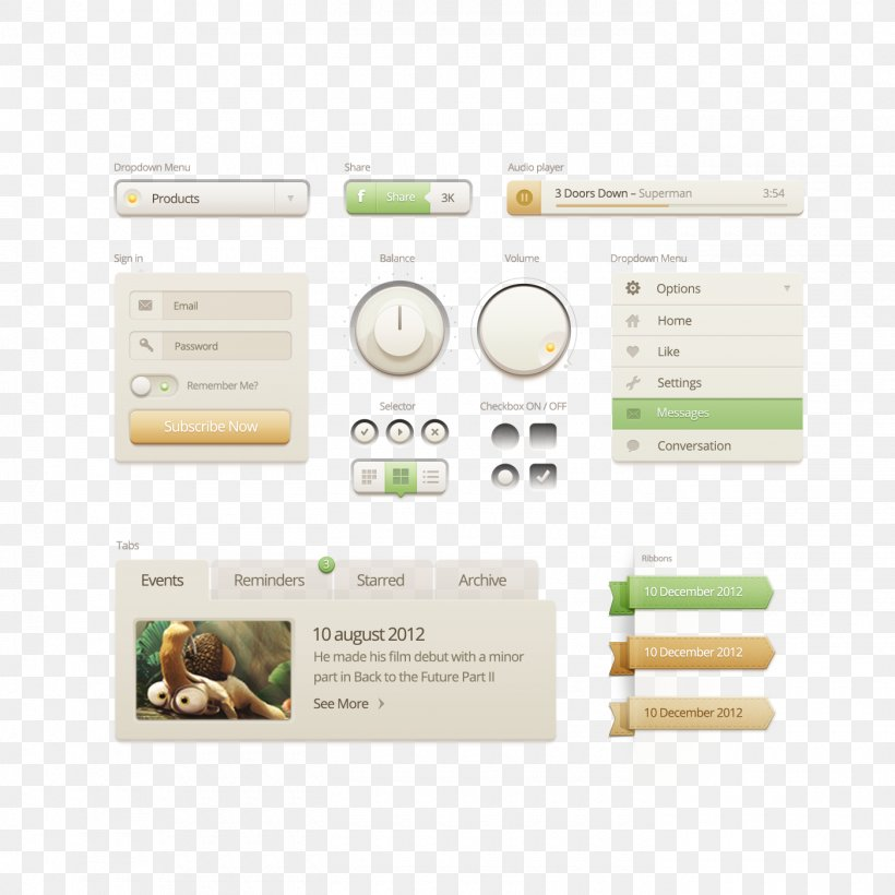 User Interface Design Slider, PNG, 1400x1400px, User Interface, Brand, Industrial Design, Interface, Media Download Free