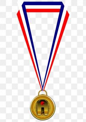 Sports Ribbon Cliparts - Gold Medal Award Olympic Medal Clip Art PNG
