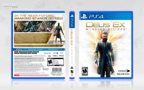 Deus Ex - Deus Ex: Mankind Divided Deus Ex: Human Revolution Assassin's Creed Syndicate PlayStation 4 Xbox 360 PNG