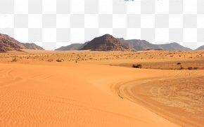 Desert - Erg Desert Euclidean Vector Asian Dust PNG
