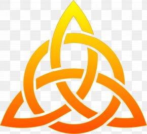 Trinity Shamrock Cliparts - Celtic Knot Triquetra Celts PNG