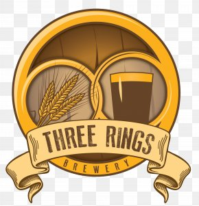 Beer - Three Rings Brewery Beer Brewing Grains & Malts City Brewing Company PNG