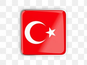 Turkey Flag Icon - Flag Of Turkey Necklace Jewellery PNG