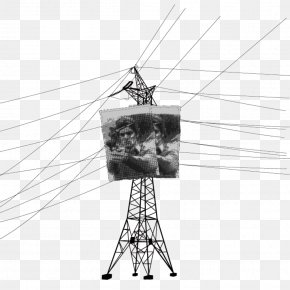 Hand Painted High Voltage - High Voltage Electricity Electric Power Transmission Overhead Power Line PNG