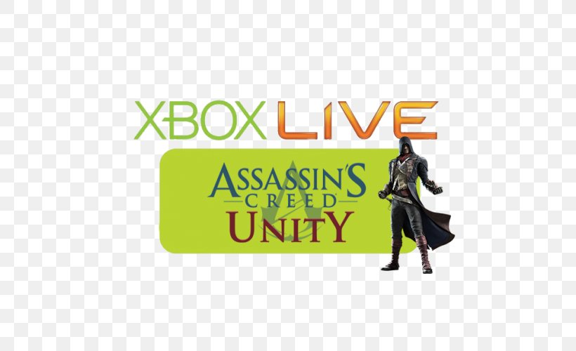 Assassin S Creed Unity Logo Brand Banner Product Png 500x500px