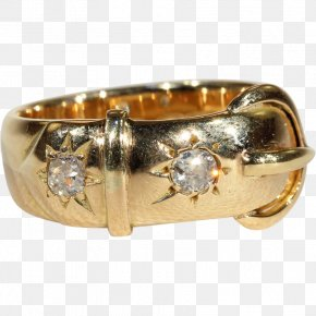 Vintage Gold - Jewellery Ring Gold Diamond Hallmark PNG