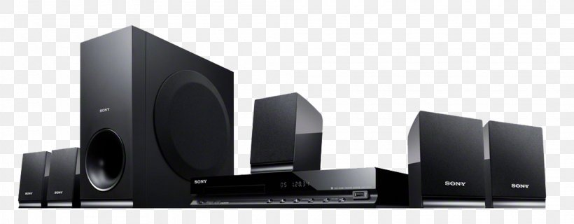 Home Theater Systems Sony Corporation 5 1 Surround Sound Sony Bravia Dav Tz140 Cinema Png 2028x792px 51