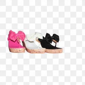 Three Different Colored Sandals - Shoe Web Banner Taobao Poster PNG