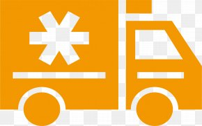 Ambulance Cartoon - Car Train Transport Logistics Logo PNG