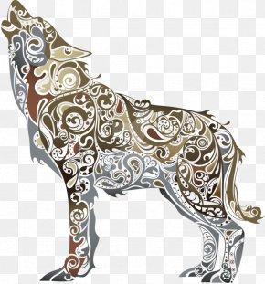 Artwork - Gray Wolf Clip Art PNG
