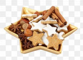 Biscuit - Christmas Dinner French Fries Food Christmas Cookie PNG