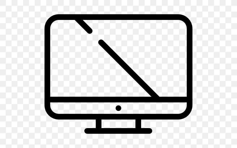 Computer Monitors, PNG, 512x512px, Computer Monitors, Area, Black And White, Computer Monitor, Display Device Download Free