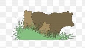 Bear - Brown Bear English Niseko Clip Art PNG