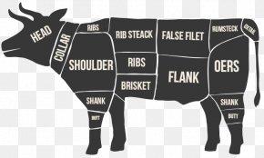 Beef Offals - Cattle Jerky Meat Beef Flank Steak PNG