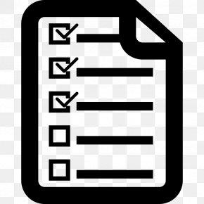 Spring Planting Checklist - Clip Art Check Mark PNG