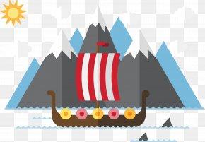 Vector Sailing - Scandinavia Viking Age Viking Ships PNG