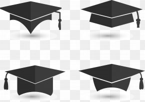 Graduation Background Graduation Cap - Graduation Ceremony Square Academic Cap Euclidean Vector PNG