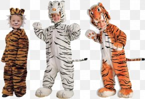 Kids Halloween Costumes - Halloween Costume Child Clothing Tiger PNG