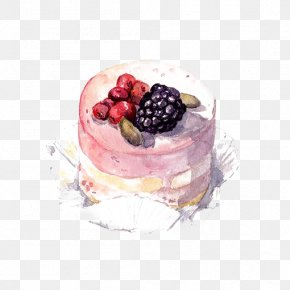 Drawing Cake - Torte Watercolor Painting Stock Photography Drawing PNG