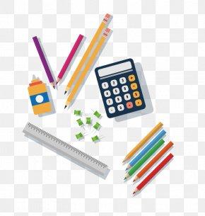 Vector Calculator - Paper Notebook School Supplies Euclidean Vector PNG