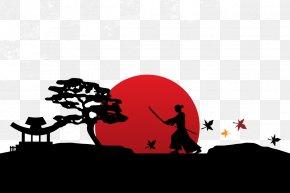 Vector Samurai - Japan Samurai Icon PNG