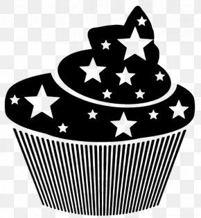 Star Cake - Muffin Cupcake T-shirt Dessert PNG
