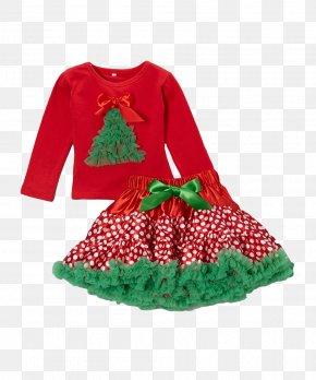 Christmas - Christmas Ornament Tutu Skirt Clothing PNG
