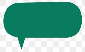 Chat Icon - Green Angle Font PNG