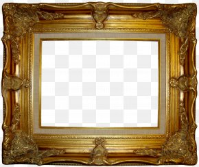 Framed Painting Cliparts - Picture Frame Decorative Arts Clip Art PNG