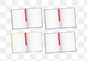 Opened Books - Rectangle PNG