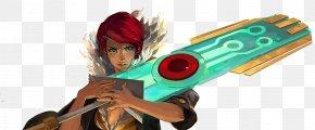 Games - Transistor PlayStation 4 Bastion Video Game Supergiant Games PNG
