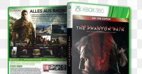Metal Gear Solid 5 - Xbox 360 Metal Gear Solid V: The Phantom Pain Video Game Xbox One Konami PNG